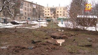 8 декабря движение в центре Чебоксар было затруднено из-за аварии на  водопроводе.