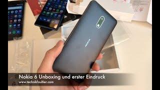 Nokia 6 Unboxing und erster Eindruck
