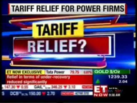 Tata Power, CEO & MD, Praveer Sinha's Interview with ET NOW on Tariff Relief For Power Firms