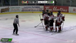 HIGHLIGHTS: West Kelowna Warriors @ Salmon Arm Silverbacks – November 6th, 2020