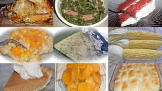 Divas Can Cook - A Divalicious Thanksgiving: Thanksgiving Menu Ideas