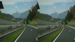 preview picture of video '1.9.2013 12: Autobahnfahrt nach Jesenice (Slowenien)'