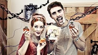 Halloween Cupcakes With PointlessBlog | Zoella