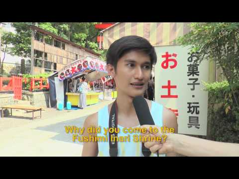Travelers' Voice of Kyoto:FUSHIMI INARI Area Interview 006