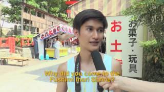 Travelers' Voice of Kyoto:FUSHIMI INARI Area Interview 006