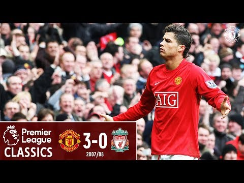 Ronaldo stars as United beat 10-man Liverpool | Manchester United 3-0 Liverpool (2008) | Classics