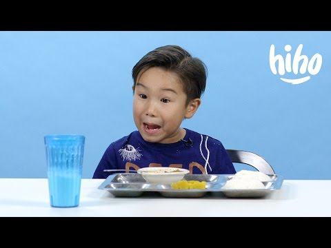 You Gotta See This: American Children Try School Lunches From Around the World