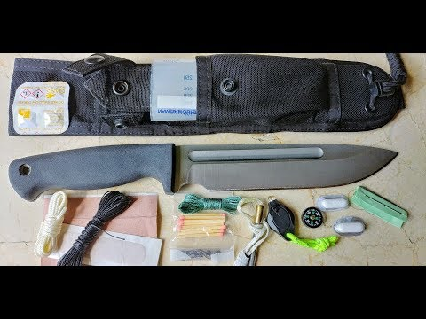 Survival Knife Kit: 10 must have items