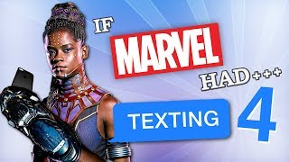 Gambar cover If Marvel Had Texting 4