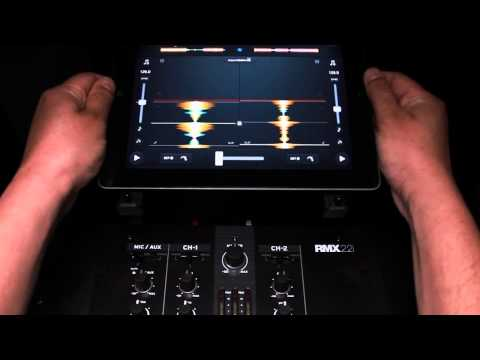 Reloop RMX-22i & 33i DJ Scratch/Battle Mixer – How To Connect Your Tablet/Smartphone (Tutorial)