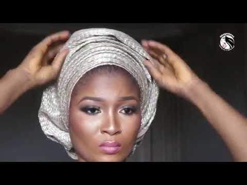How to - Multiple pleats Gele