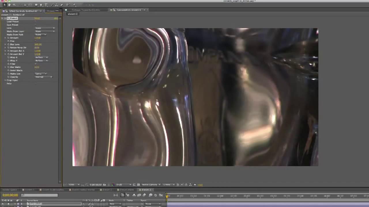 boris FX Sapphire filter