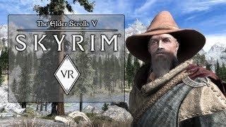 Skyrim VR - HTC Vive PC Gameplay (Modded Combat!)