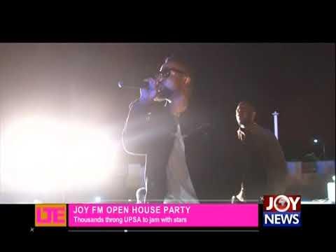 Joy FM Open House Party - Let's Talk Entertainment on JoyNews (9-4-18)