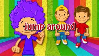 I Am So Happy Song Lyrics | Action Songs For Kids | Verb Song For Kids