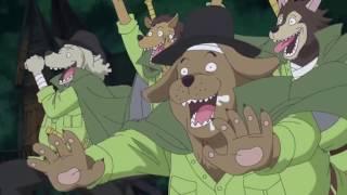 Brook Getting Mauled By Dog Minks   One Piece Episode 766 English Sub