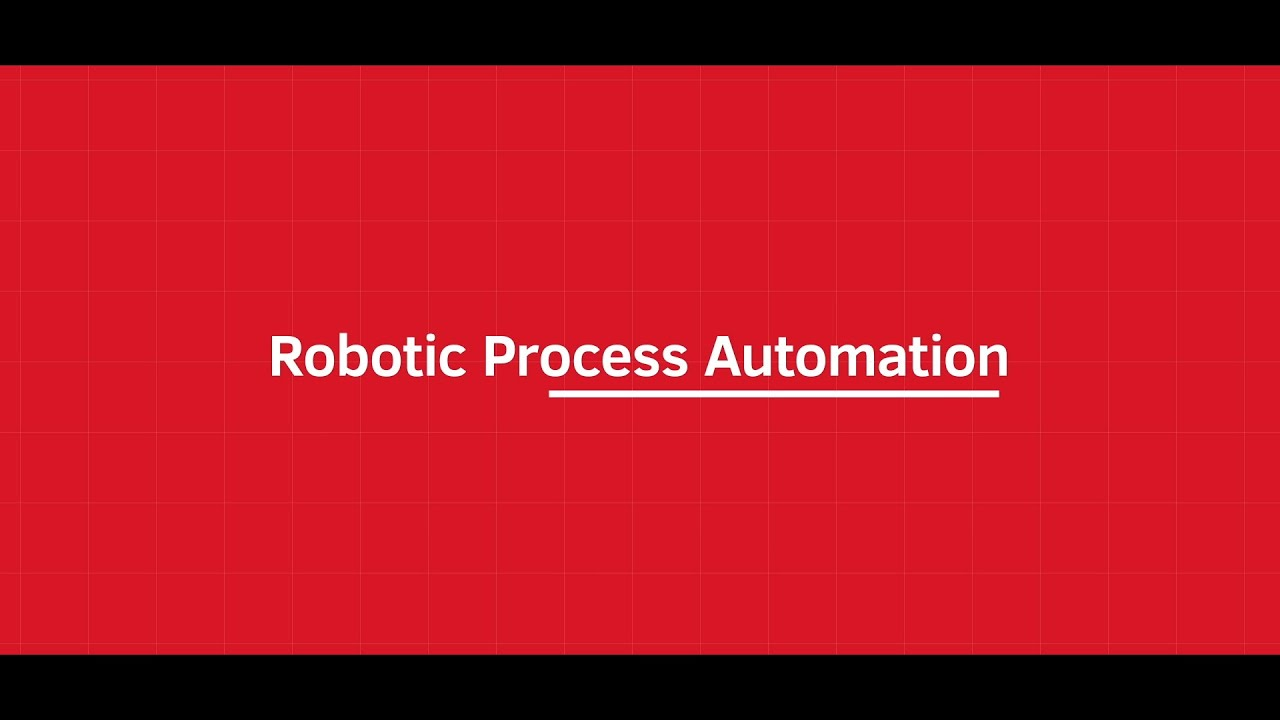 Xerox Robotic Process Automation Service YouTube Video