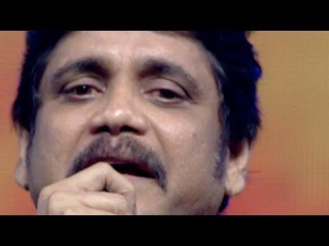 Nagarjuna Crying on Stage - Emotional Speech @ Manam Sangeetam Event - ANR