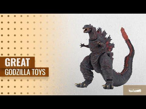 """Great NECA Godzilla Toys [2018]: NECA - Godzilla - 12"""" Head to Tail action figure - 2016 Shin"""