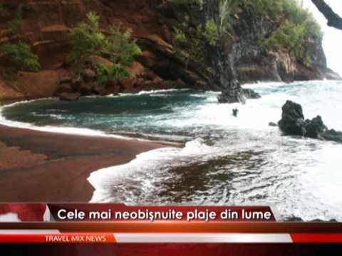 Cele mai ciudate plaje din lume – VIDEO