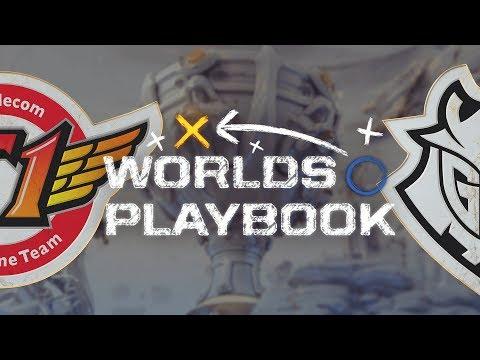 Worlds Playbook - How G2 used multiple splitpushers to trade objectives vs SKT