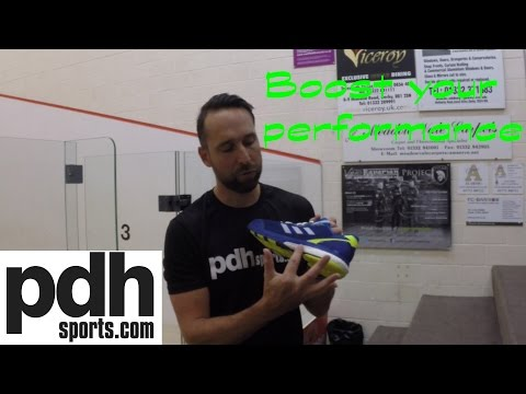 Adidas Stabil Boost II squash shoe review by PDHSports.com