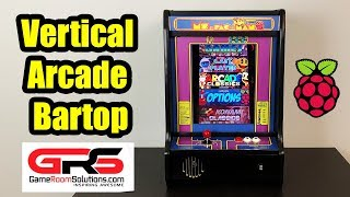 Raspberry Pi Powered Vertical BarTop Arcade - The NinCade
