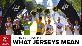 Tour De France Jerseys - What Do They All Mean?