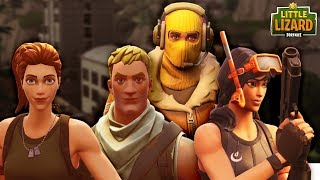 RAPTOR HAS HIS OWN NOOB ARMY! * SEASON 5 *Fortnite Short Film
