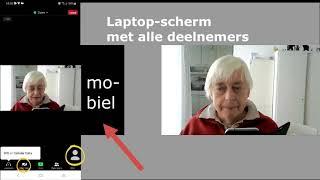 3 Op mobieltje (filmpje van onze webmaster)