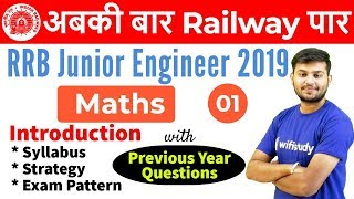 12:30 PM - RRB JE 2019 | Maths by Sahil Sir | Introduction - Download this Video in MP3, M4A, WEBM, MP4, 3GP