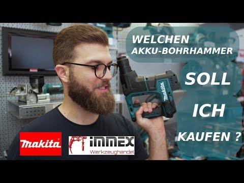 Welchen 18V Makita Akku-Bohrhammer soll ich kaufen? | Fachhändler-Talk