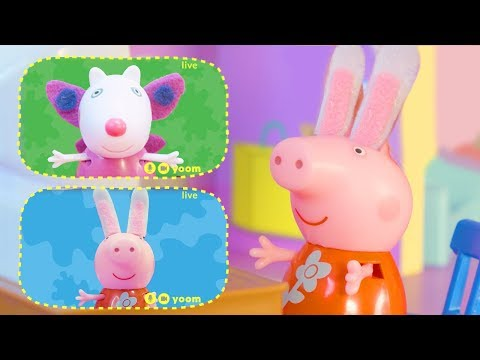 Download Peppa Pig Official Channel | Peppa Pig Stop Motion: Dress-up for Group Call with Peppa Pig Mp4 HD Video and MP3
