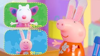 Peppa Pig Official Channel | Peppa Pig Stop Motion: Dress-up for Group Call with Peppa Pig