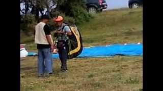 preview picture of video 'Des parachutistes a chrea...by blida archi 10'