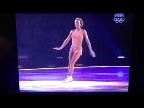 Nude Ebony Figure Skater