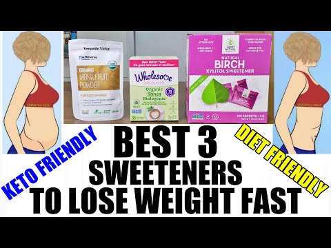 Keto Sweeteners: Best Sugar Substitute For Weight Loss & Keto Diet   Healthy Alternative To Sugar