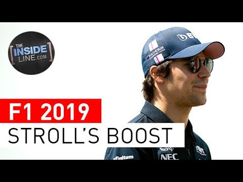 Image: WATCH: Lance Stroll Important Boost