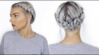 Easy Dutch Halo Braid Tutorial | Festival Hair | LoveFings