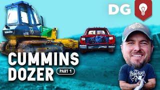 We Cummins swapped a Komatsu Bulldozer with @Welker Farms Inc [EP1]