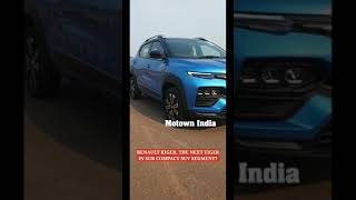 Renault Kiger, the new Tiger in sub compact SUV segment in India? #shorts #short #renaultkiger