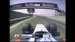 F1 2005 Hungary Race Highlights