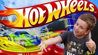 Хот Вилс автомойка. Открываем, играем, моем машинки!, Игрушка Hot Wheels color blaster. HW city