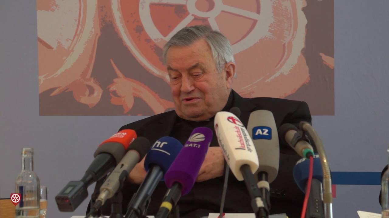Pressegespräch zum 80. Geburtstag von Karl Kardinal Lehmann