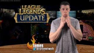 Sion Reworks, Saint Vicious, 1v1 Duel Map - League Update 4/29/13