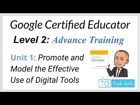 Google Educator Level 2: Unit 1 Training - YouTube