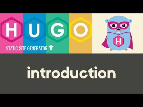 Introduction to Hugo | Hugo - Static Site Generator | Tutorial 1