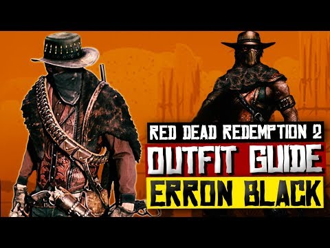 Red Dead Redemption 2 | How to dress up Arthur in All Black