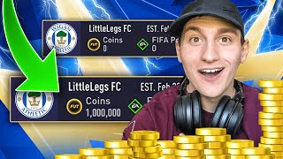 HOW TO GET 1 MILLION COINS IN FIFA 21!