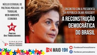 #aovivo | A reconstrução democrática do Brasil